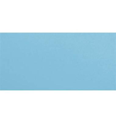 Designbriefumschläge Din Lang+ EcoRainbow ohne Fenster haftklebend 80g blau 25 Stück