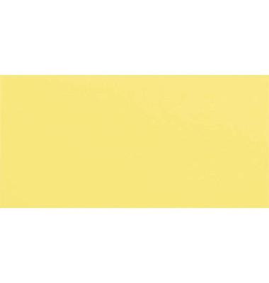 Designbriefumschläge Din Lang+ EcoRainbow ohne Fenster haftklebend 80g gelb 25 Stück