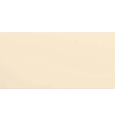 Designbriefumschläge Din Lang+ EcoRainbow ohne Fenster haftklebend 80g hellchamois 25 Stück