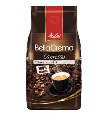 BellaCrema Cafe Espresso ganze Bohnen 1kg