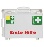 Erste-Hilfe-Koffer weiß gefüllt DIN 13157
