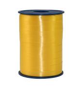 Geschenkband Ringelband 10mm x 250m gelb