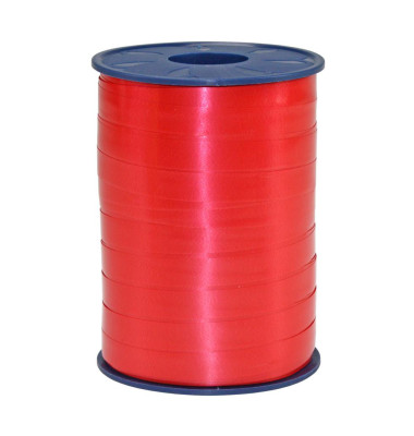 Kräuselband rot 1cm x 250m