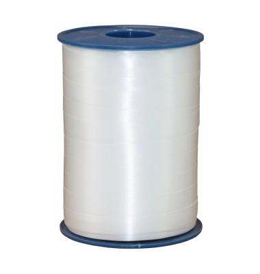 Geschenkband Ringelband America 2549-601 10mm x 250m glänzend weiß