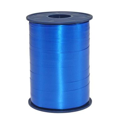 Geschenkband Ringelband America 2549-614 10mm x 250m glänzend royalblau