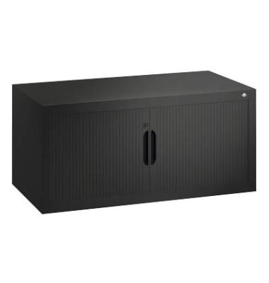 Aufsatzaktenschrank 3262-00, Kunststoff/Stahl abschließbar, 100 x 45 x 42 cm, keine Fachböden, anthrazit