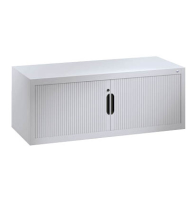 Aufsatz-Rollladenschrank 120,0 x 42,0 x 45,0 cm lichtgrau