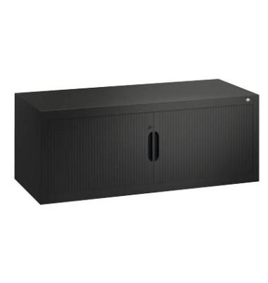 Aufsatzaktenschrank 3263-00, Kunststoff/Stahl abschließbar, 120 x 45 x 42 cm, keine Fachböden, anthrazit