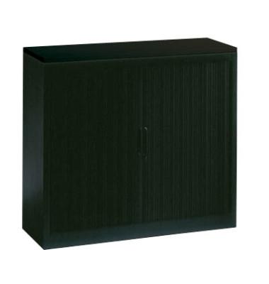 Aktenschrank 3242-00, Kunststoff/Stahl abschließbar, 3 OH, 100 x 103 x 42 cm, anthrazit