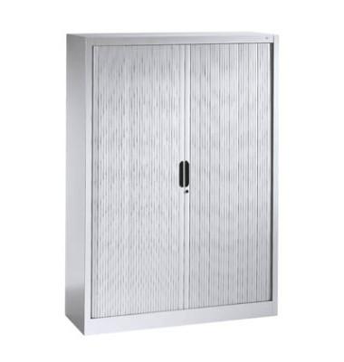 Aktenschrank 3213-00, Kunststoff/Stahl abschließbar, 4 OH, 120 x 166 x 42 cm, lichtgrau