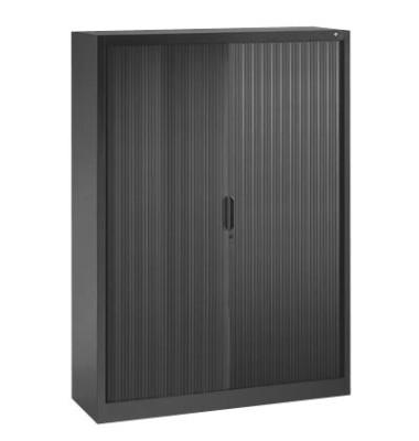 Aktenschrank 3213-00, Kunststoff/Stahl abschließbar, 4 OH, 120 x 166 x 42 cm, anthrazit