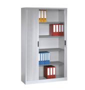 Aktenschrank 3203-00, Kunststoff/Stahl abschließbar, 5 OH, 120 x 198 x 42 cm, lichtgrau