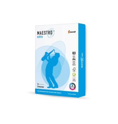 Kopierpapier Maestro Extra 1 Palette 100000 Blatt
