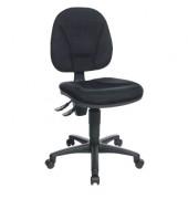 Bürodrehstuhl Point 10 ohne Armlehnen schwarz