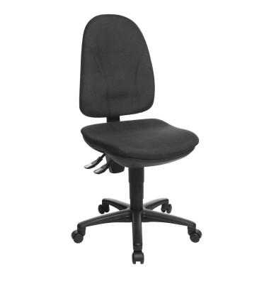 Bürodrehstuhl Point 30 ohne Armlehnen schwarz