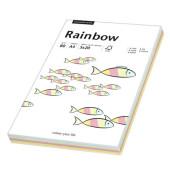Coloured Paper farbig sortiert pastell A4 80g Kopierpapier 5x 20 Blatt