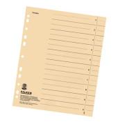 Trennblätter 8000 A4 chamois 230g 100 Blatt