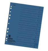 Trennblätter 8000 A4 blau 230g 100 Blatt