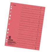 Trennblätter 8000 A4 rot 230g 100 Blatt