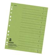 Trennblätter 8000 A4 grün 230g 100 Blatt