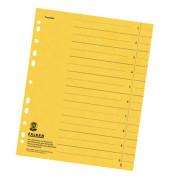 Trennblätter 8000 A4 gelb 230g 100 Blatt