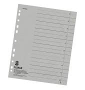 Trennblätter 8000 A4 grau 230g 100 Blatt