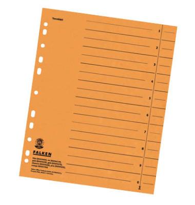 Trennblätter 8000 A4 orange 230g 100 Blatt