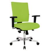 Bürodrehstuhl Lightstar 10 ohne Armlehnen apfelgrün