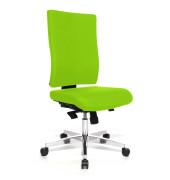 Bürodrehstuhl Lightstar 20 ohne Armlehnen apfelgrün