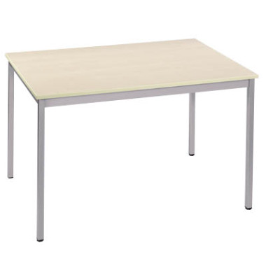 Schreibtisch 147REA ahorn rechteckig 140x70 cm (BxT)