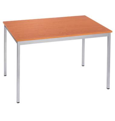 Schreibtisch 168RMA kirsche rechteckig 160x80 cm (BxT)