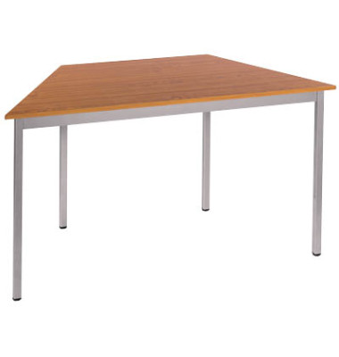 Schreibtisch 126TMA kirsche Trapezform 120x60 cm (BxT)