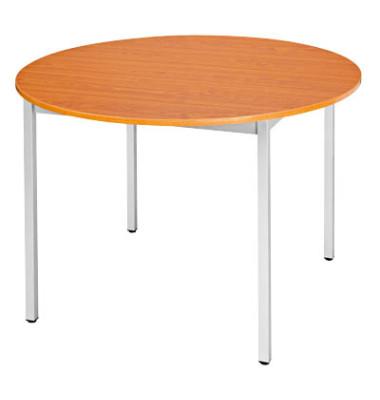 Schreibtisch 80ROMA kirsche rund 80x80 cm (BxT)