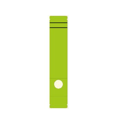Rückenschilder 5861 61 x 285 mm grün 10 Stück zum aufkleben