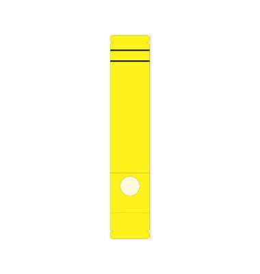Rückenschilder 5859 61 x 285 mm gelb 10 Stück zum aufkleben