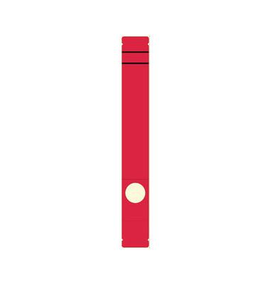 Rückenschilder 5864 39 x 285 mm rot 10 Stück zum aufkleben