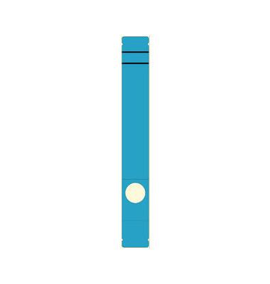 Rückenschilder 5866 39 x 285 mm blau 10 Stück zum aufkleben
