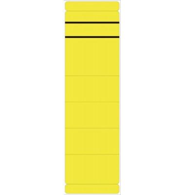 Rückenschilder 5847 61 x 190 mm gelb 10 Stück zum aufkleben
