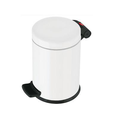 Tretabfalleimer ProfiLine Solid S 4 Liter weiß Inneneimer Kunststoff