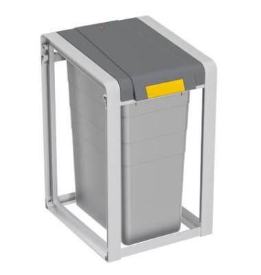 Abfalltrennsystem ProfiLine Öko 35 Liter grau