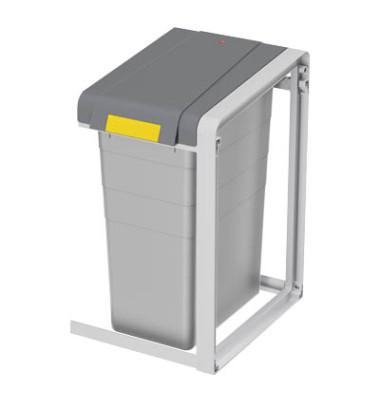 Abfalltrennsystem ProfiLine Öko 35 Liter Erweiterung grau
