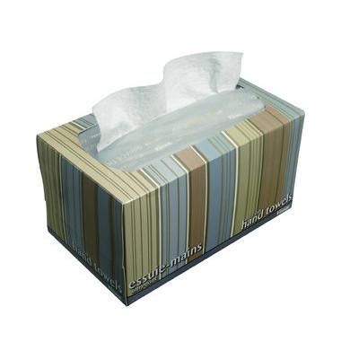 Handtücher-Zupfbox 1126 Kleenex Ultra Soft Pop-Up medium Interfold Tissue 1-lagig 70 Tücher