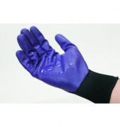 Nitril-HaSchuh G40 schaumbes. violett 12 Paar Größe 8