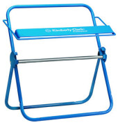 Wischtuch-Wandhalter 6146 Großrolle Stahl blau