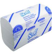 Papierhandtücher 6633 Scott mittel Scottfold 20,5 x 31,5 cm Airflex weiß 1-lagig 4375 Tücher