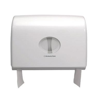 Toilettenpapierspender 6992 Aquarius 2 Kleinrollen weiß