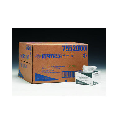 Wischtücher 7552 Kimtech Science Präzisionstücher 1-lagig