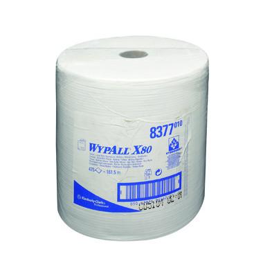 Wischtücher 8377 Wypall X80 Großrolle 1-lagig 1 Rolle