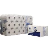 Toilettenpapier 8441 2-lagig Tissue hochweiß