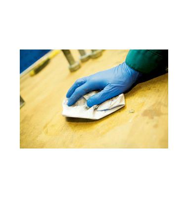 Nitril-Handschuh puderfr.Gr.XL G10 blau Arctic 180 St